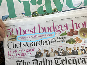 Telegraph's Luxury for less